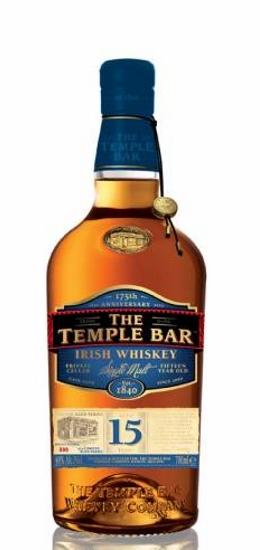 The Temple Bar Irish Whiskey 15 Years Single Malt 40° cl70 Gift Box