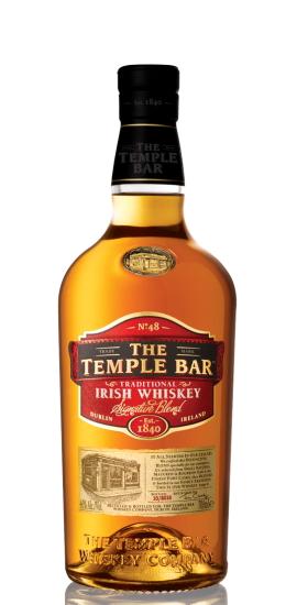 The Temple Bar Irish Whiskey Signature Blend 40° cl70 Gift Box