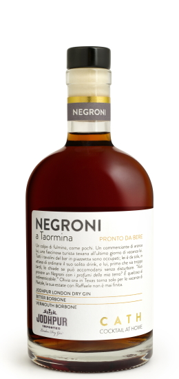 CATH Cocktail AT Home - NEGRONI a Taormina 28° cl50