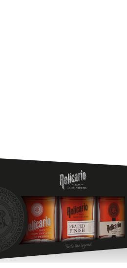 Rum Relicario Pack 3 x 20 cl - 40°