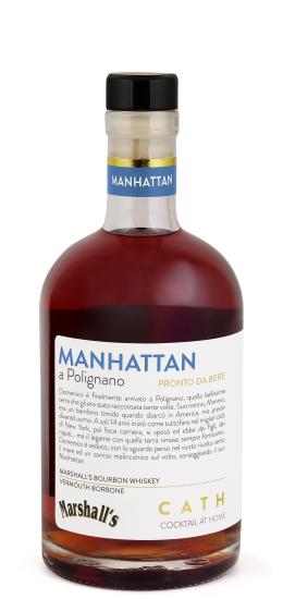 CATH Cocktail AT Home - MANHATTAN a Polignano 28° cl50